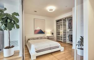 Spaceful bedrooms
